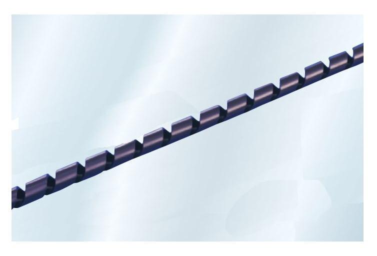 スパイラルチューブ 29.0mm 黒色 25m
