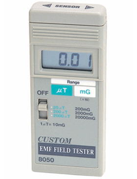 CUSTOM(カスタム)EMFテスタ(電磁計)8050
