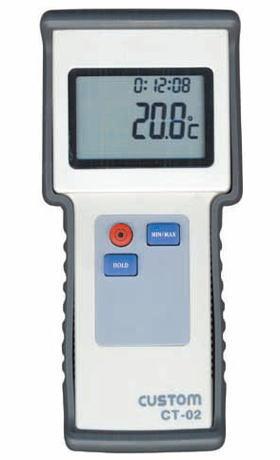 CUSTOM(カスタム)デジタル温度計CT-02