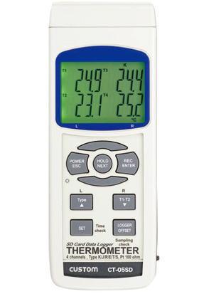 CUSTOM(カスタム)4チャンネル温度計CT-05SD