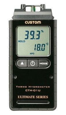 CUSTOM(カスタム)デジタル温湿度計CTH-01U