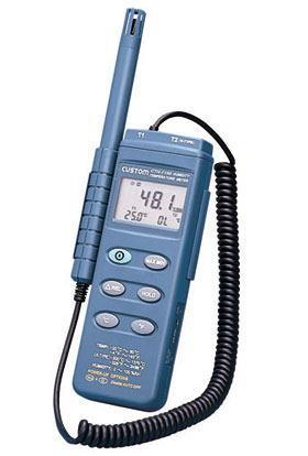 CUSTOM(カスタム)デジタル温湿度計CTH-1100