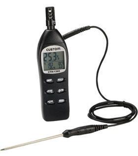 CUSTOM(カスタム)デジタル温湿度計CTH-1365