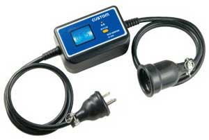 CUSTOM(カスタム)単相2線200V用 簡易電力計EC-200