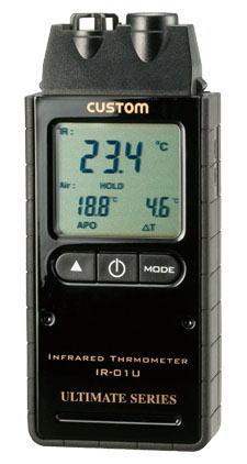 CUSTOM(カスタム)赤外線放射温度計IR-01U