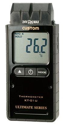 CUSTOM(カスタム)デジタル温度計(Kタイプ1ch)KT-01U