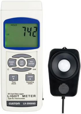 CUSTOM(カスタム)照度計LX-2000SD