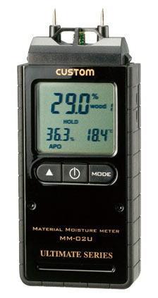 CUSTOM(カスタム)デジタル水分計mm-02U