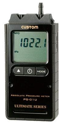 CUSTOM(カスタム)デジタル絶対圧計PG-01U