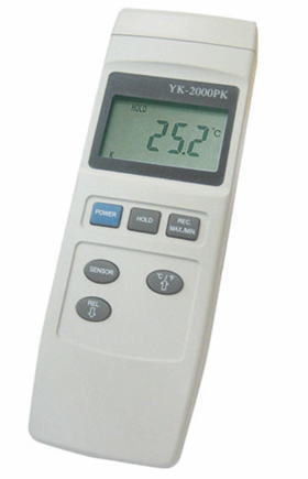 CUSTOM(カスタム)デジタル温度計YK-2000PS