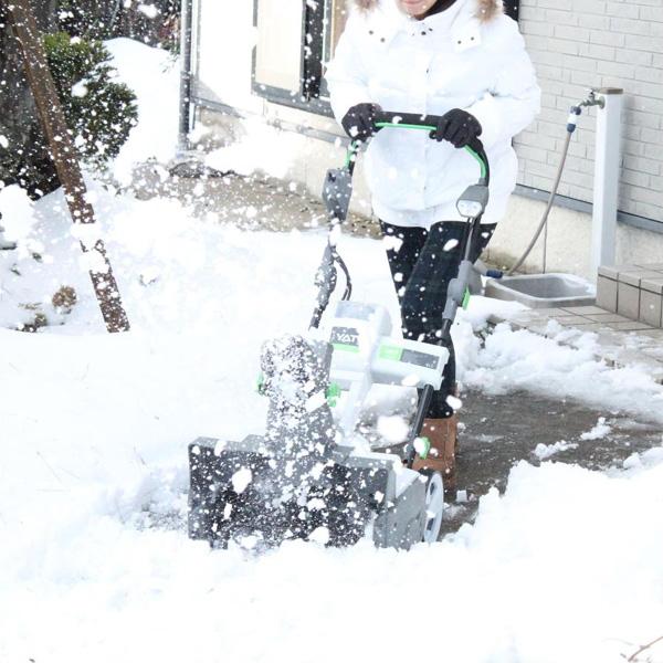 充電式電動除雪機スノーホエール