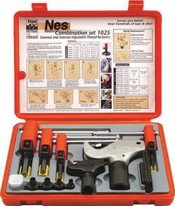 NOGA(ノガジャパン)ねじ山修正工具セット 外径4~38、内径8~32mmNS1025