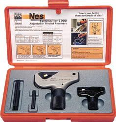 NOGA(ノガジャパン)ねじ山修正工具セット 外径4~38mm NS8000
