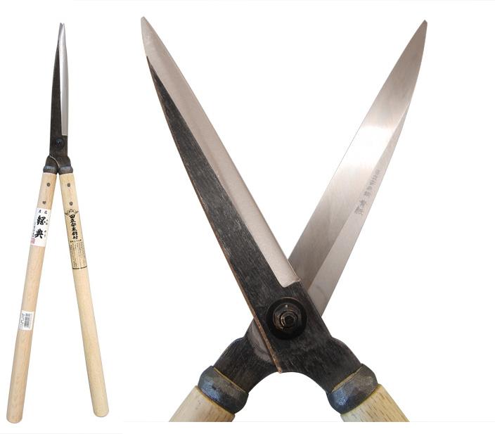 五十嵐刃物 安来鋼付き刈り込み鋏 青紙 195mm