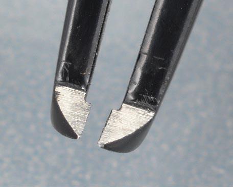 カッティングピンセット 3.6mm幅 全長115mm