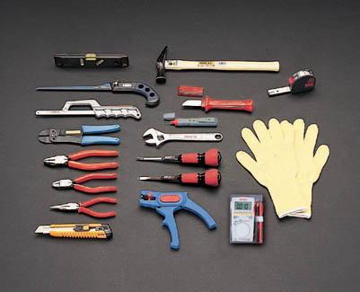 電気工事用工具セット(18点)EA33