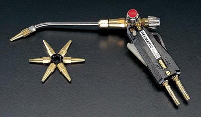 ピストル型溶接器(酸素・アセチレン用)