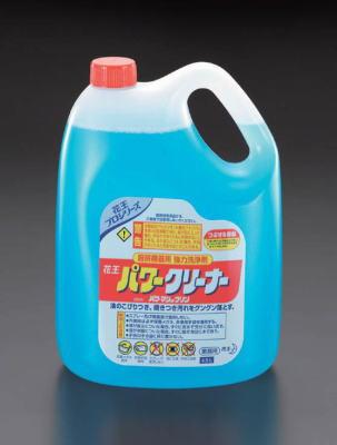 花王業務用客室・厨房用洗剤パワークリーナー4.5LX4個