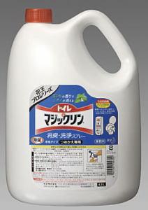 花王トイレマジックリン消臭・洗浄剤業務用 4.5L 4個