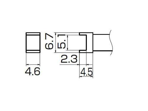 白光(HAKKO)FX-950/951/952型kote的前方T12系列隧道5.1*4.6 T12-1001