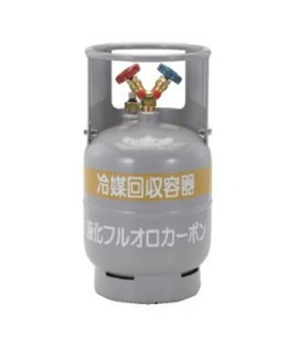 TASCO(タスコ) 冷媒ガス回収再生用ボンベ 12L フロートセンサー付回収ボンベ TA110-12
