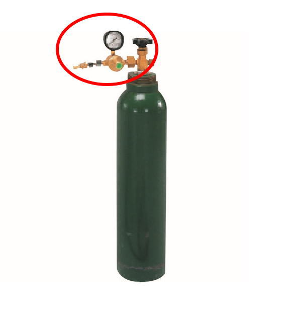 TASCO(タスコ) TA801Rボンベ用炭酸ガスレギュレーター TA801R