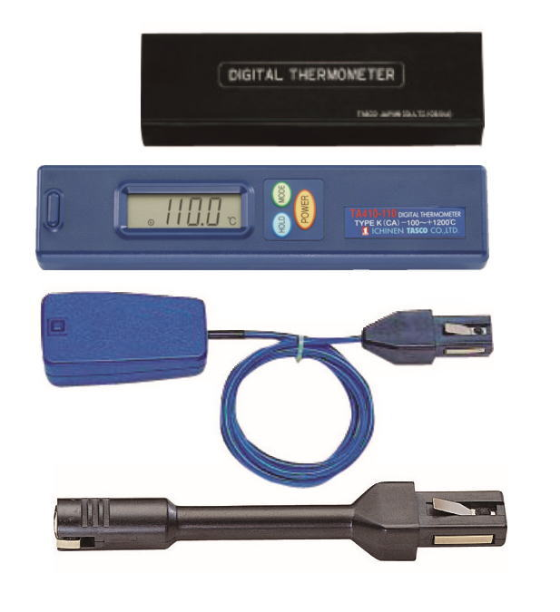 TASCO(タスコ) デジタル温度計セット(表面) TA410AB