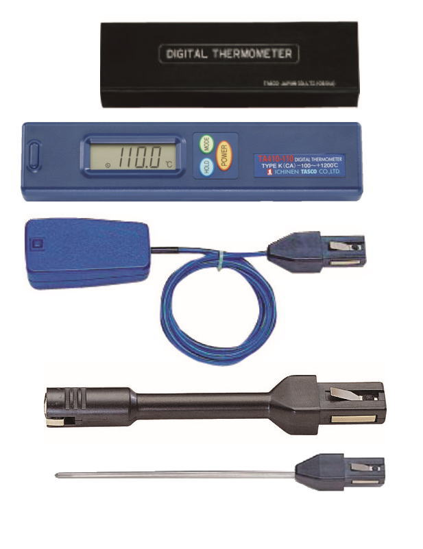 TASCO(タスコ) デジタル温度計セット(表面・内部) TA410AF
