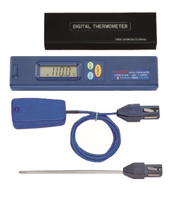 TASCO(タスコ) デジタル温度計セット(内部) TA410AE