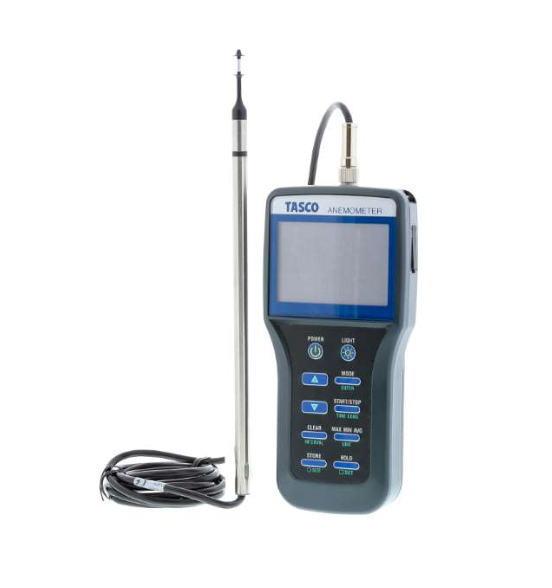 TASCO(タスコ) ダンベル型熱式風速計 連続記録タイプ TA411DB