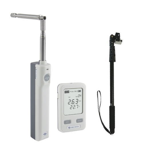 TASCO(タスコ) ワイヤレス風速温度計(伸縮延長セット) TA411AF-S