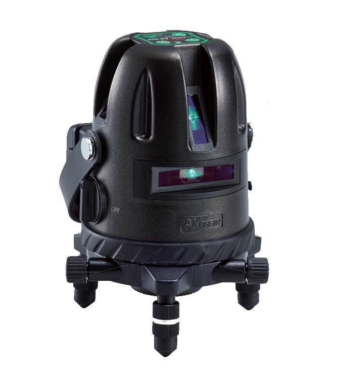AXBRAIN(アックスブレーン) 高輝度グリーンレーザー墨出器 AG-505