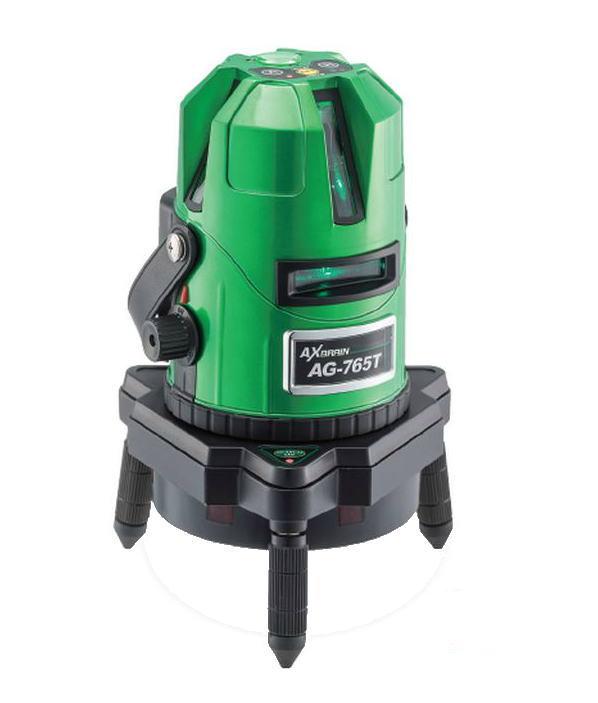 AXBRAIN(アックスブレーン) 高輝度自動探知ダイレクトグリーンレーザー墨出し器 AG-765T