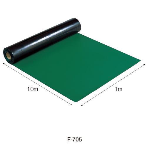 HOZAN導電性カラーマット(グリーン) 1mX10m F-705