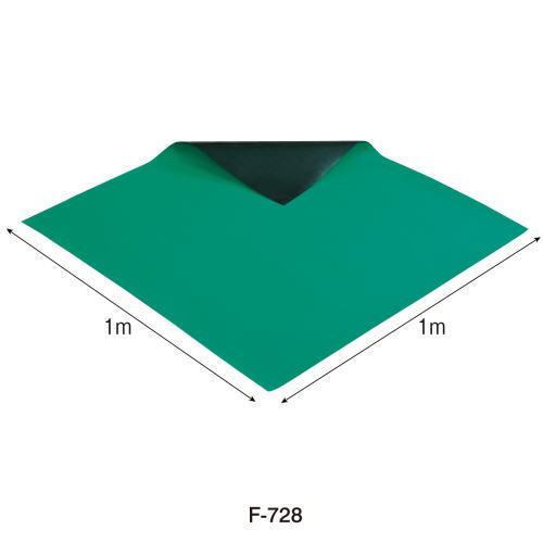 HOZAN導電性カラーマット(グリーン) 1mX1m F-728