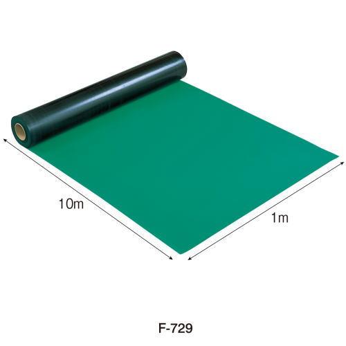 HOZAN導電性カラーマット(グリーン) 1mX10m F-729