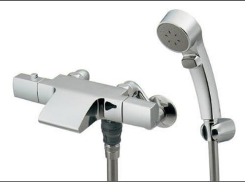 KAKUDAIサーモスタットシャワー混合栓バスルーム用逆止