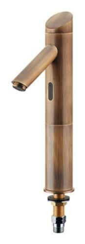 カクダイ センサー水栓トール(オールドブラス)