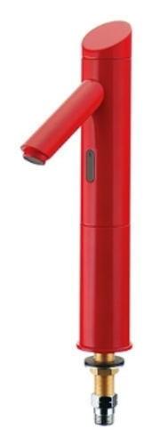 カクダイ センサー水栓トール(レッド)