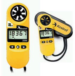 KESTREL(ケストレル) ポケット気象メーター気象計、風速計、温度計、湿度計、気圧計、高度計 3500