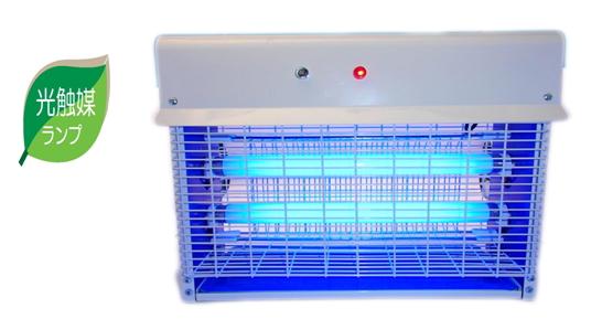 PROMOTE(プロモート) 光触媒捕虫ランプ 20W電撃殺虫器 PC-20A