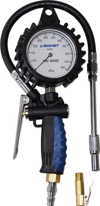 SIGNET(シグネット) 増減圧機能付タイヤゲージ (0-600KPA) 46966