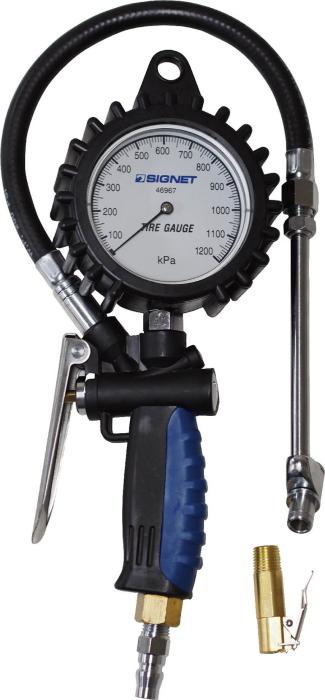 SIGNET(シグネット) 増減圧機能付タイヤゲージ (0-1200KPA) 46967