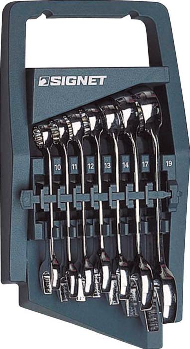 SIGNET(シグネット) スタビーコンビネーションレンチセット 7本組 30377