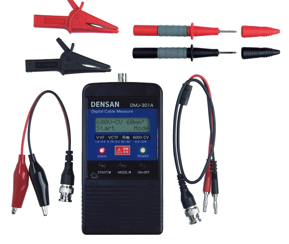 DENSANデジタルケーブルメジャー 電線・同軸用 DMJ-301A