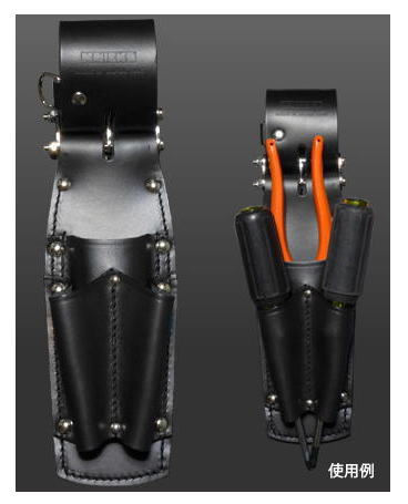 KNICKS(ニックス)チェーンタイプ8インチペンチ・ドライバーホルダーKB-301PFLDX