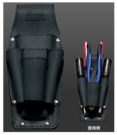 KNICKS(ニックス)ペンチ・ドライバー・ハンドプレスホルダー(ブラック)KB-501PDH