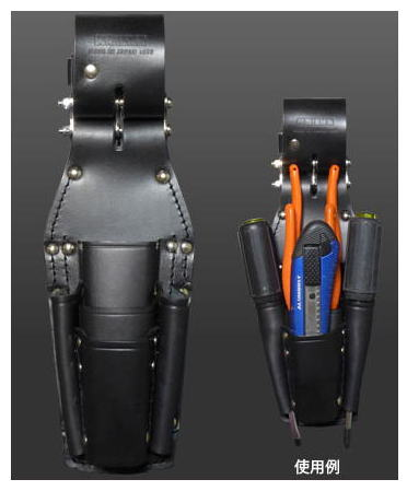 KNICKS(ニックス)チェーンタイプペンチ・ニッパ・ドライバーホルダーKB-501PLLDX