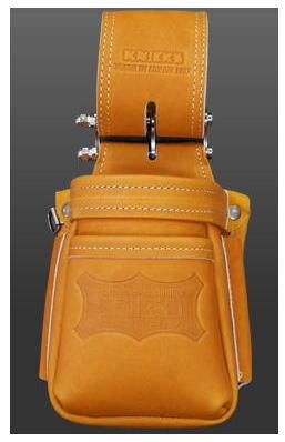 KNICKS(ニックス)最高級硬式グローブ革チェーンタイプ小物腰袋(VAストリッパーフォルダー)(キャメル)KGC-201VADX