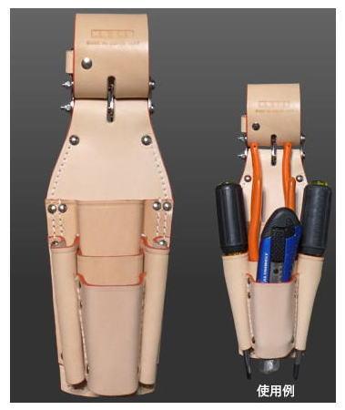 KNICKS(ニックス)チェーン式ペンチ・ニッパ・ドライバーホルダーKN-501PLLDX